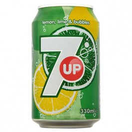 7 UP can 330ml - Case of 24