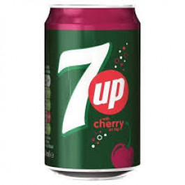 7 UP Cherry  can 330ml - Case of 24