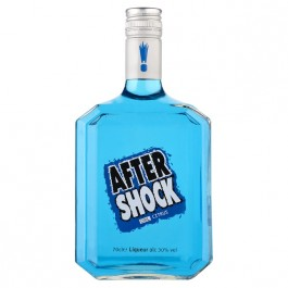 After Shock Blue Liqueur 70cl - Case of 6
