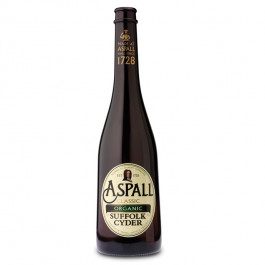 Aspall Organic Suffolk Cider NRB 500ml - Case of 6