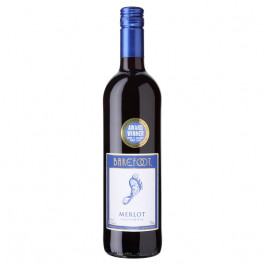 Barefoot Merlot Wine 75cl - Case of 6
