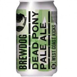 Brewdog Dead Pony Club can 330ml - Case of 24