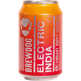 Brewdog Electric India Beer Can 330ml - Case of 24