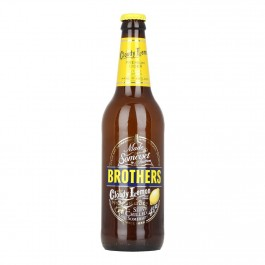 Brothers Cloudy Lemon Cider NRB 500ml - Case of 12