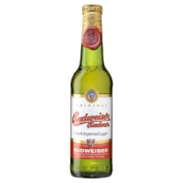 Budweiser Budvar Alcohol Free Beer NRB 330ml - Case of 24