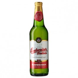 Budweiser Budvar Beer NRB 500ml - Case of 20