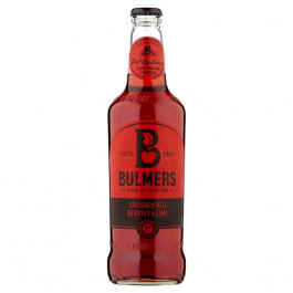 Bulmers Crushed Red Berries and Lime Cider NRB 500ml - Case of 12