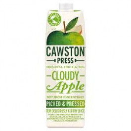 Cawston Press Cloudy Apple Juice 1 Litre - Case of 6
