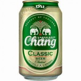 Chang Beer can 330ml - Case of 24