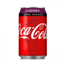 Coca Cola Zero Sugar Cherry can 330ml - Case of 24