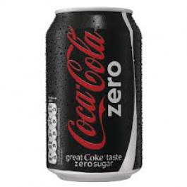Coca Cola Zero can 330ml - Case of 24