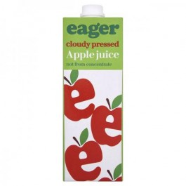 Eager Apple Juice 1 Litre - Case of 8