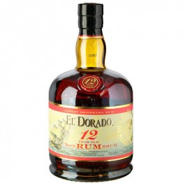 El Dorado Rum 12 YO 70cl - Case of 6
