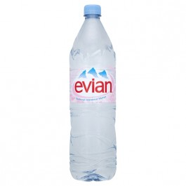 Evian Still Water 1.5 Litre - Case of 12