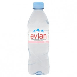 Evian Still Water 500ml - Case of 24