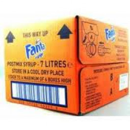 Fanta Orange Post Mix 7 Litres