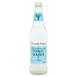 Fever-Tree Mediterranean Tonic Water NRB 500ml - Case of 8