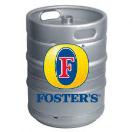 Foster's lager Beer Keg - 50 Litre (11 Gallons)