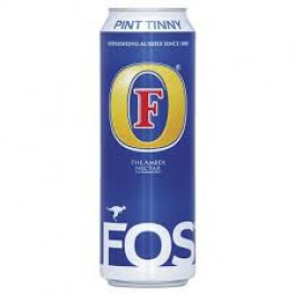 Fosters Lager Beer can 568ml - Case of 24