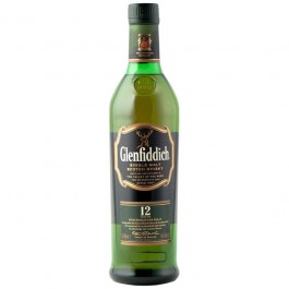 Glenfiddich 12 YO Whisky 70cl - Case of 6