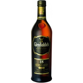 Glenfiddich 18 YO Whisky 70cl - Case of 3