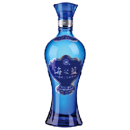 Haizhilan Ocean Blue Baijiu 24cl - Case of 12