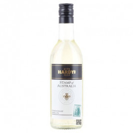 Hardys Stamp of Australia Semillon Chardonnay Wine Miniature 187ml - Case of 12