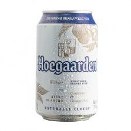 Hoegaarden Beer Can 330ml - Case of 24
