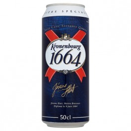 Kronenbourg 1664 Beer can 440ml - Case of 24