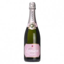 Lanson Rosé Label Champagne 75cl - Case of 6