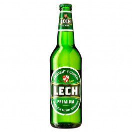 Lech Lager Beer NRB 500ml - Case of 20