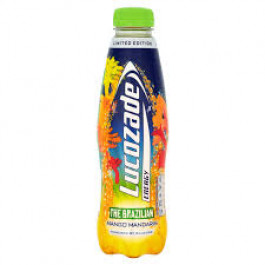 Lucozade Brazilian Mango Mandarin 380ml - Case of 24
