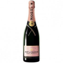 Moët & Chandon Brut Rosé Champagne 75cl - Case of 6