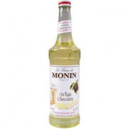 Monin White Chocolate Syrup 70cl - Case of 6