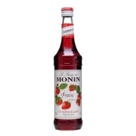 Monin Strawberry Syrup 70cl - Case of 6