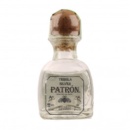 Patrón Silver Tequila 5cl - Case of 6