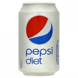 Diet Pepsi can 330ml - Case of 24