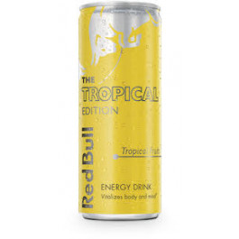 Red Bull Tropical Energy Drink 250ml - Case of 12