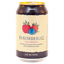 Rekorderlig Wild Berries Cider can 330ml - Case of 24