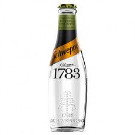 Schweppes 1783 Cucumber Tonic Water NRB 200ml - Case of 12