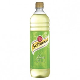 Schweppes Lime Cordial 1 Litre - Case of 12