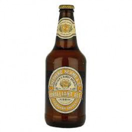 Shepherd Neame Brilliant Golden Ale Beer NRB 500ml - Case of 8