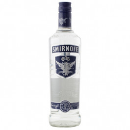 Smirnoff Blue Vodka 70cl - Case of 6