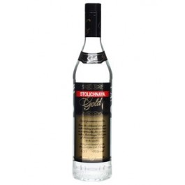 Stolichnaya Gold Vodka 70cl - Case of 6