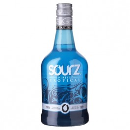 Sourz Tropical Blue 70cl - Case of 6