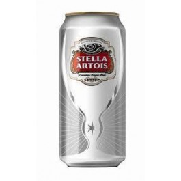 Stella Artois Beer can 500ml - Case of 24