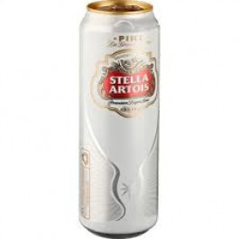 Stella Artois Beer can 568ml - Case of 24