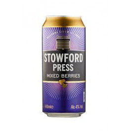 Stowford Press Mixed Berries Cider can 440ml - Case of 24