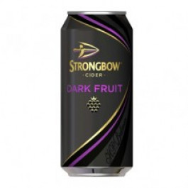 Strongbow Dark Fruit Cider can 440ml - Case of 24