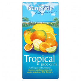 Sunpride 100% Tropical Juice 1 Litre - Case of 8